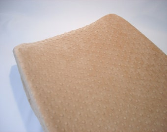 Caramel Brown Changing Pad Cover