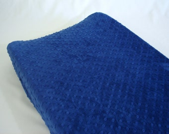 Sapphire Blue Changing Pad Cover