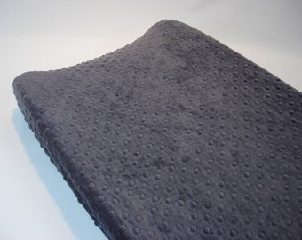 Titanium Dark Gray Changing Pad Cover