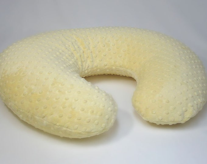 Yellow Nursing Pillow Cover Buttercup