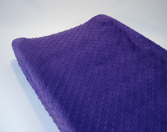 Amethyst Purple Changing Pad Cover