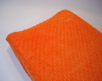 Citrus Orange Changing Pad Cover