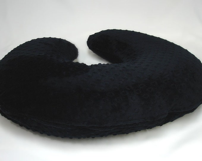 Black Nursing Pillow Cover
