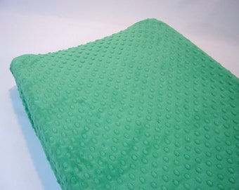 Kelly Green Changing Pad Cover