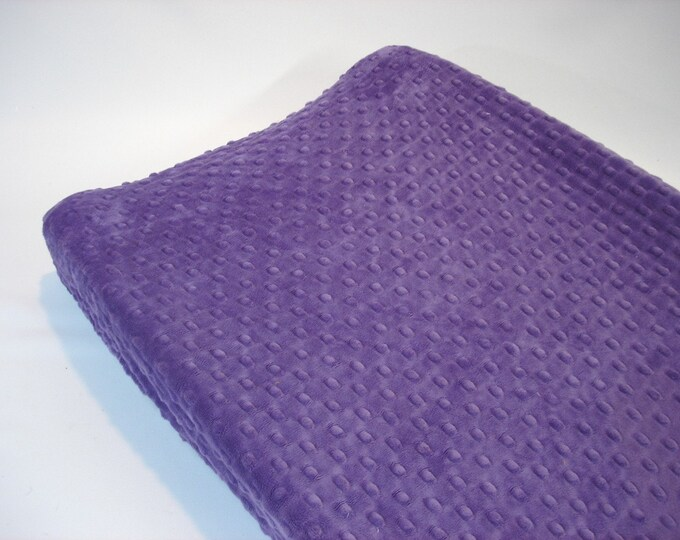 Grape Purple Changing Pad Cover