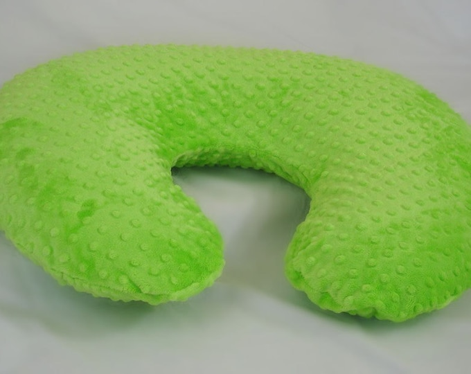 Lime Green Nursing Pillow Cover