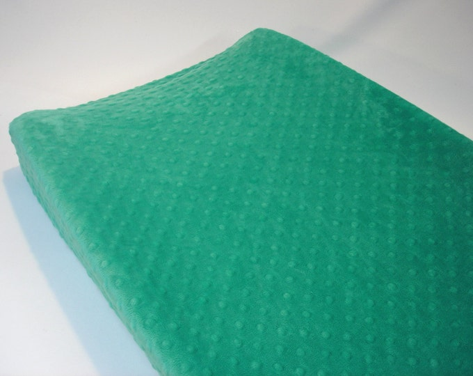 Seaglass Green Changing Pad Cover
