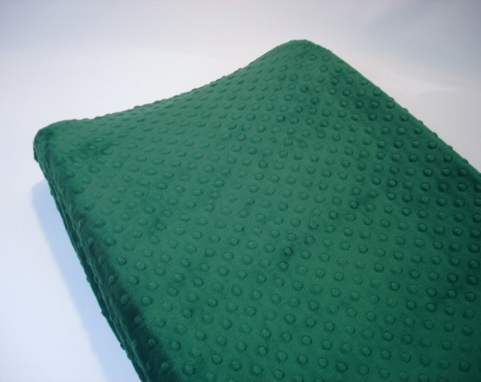 Emerald Green Changing Pad Cover