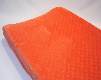 Papaya Orange Changing Pad Cover