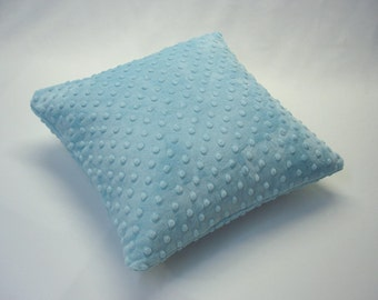 Minky Fabric Square Accent Pillow Cover