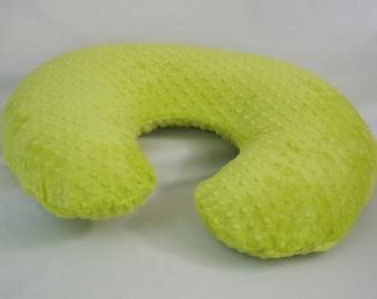 Apple Green Nursing Pillow Cover