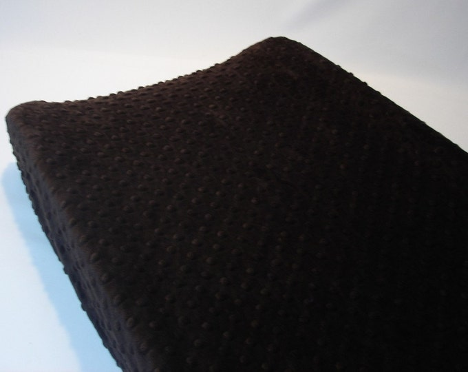 Espresso Dark Brown Changing Pad Cover
