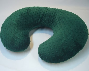 Emerald Green Nursing Pillow Cover