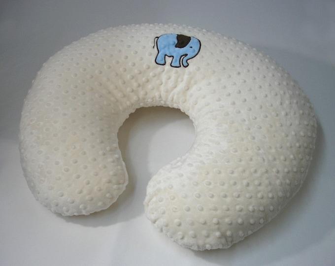 Elephant Nursing Pillow Cover