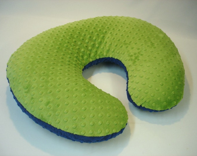 Green Nursing Pillow Cover Jade
