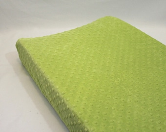 Apple Green Changing Pad Cover