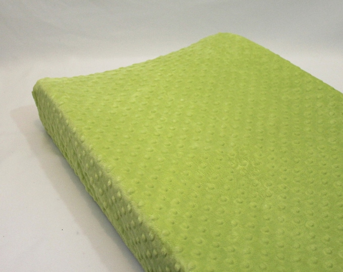 Changing Pad Cover Green Apple