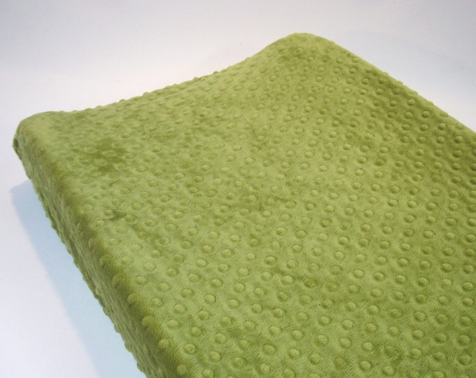 Kiwi Green Changing Pad Cover