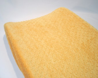 Changing Pad Cover Saffron Yellow