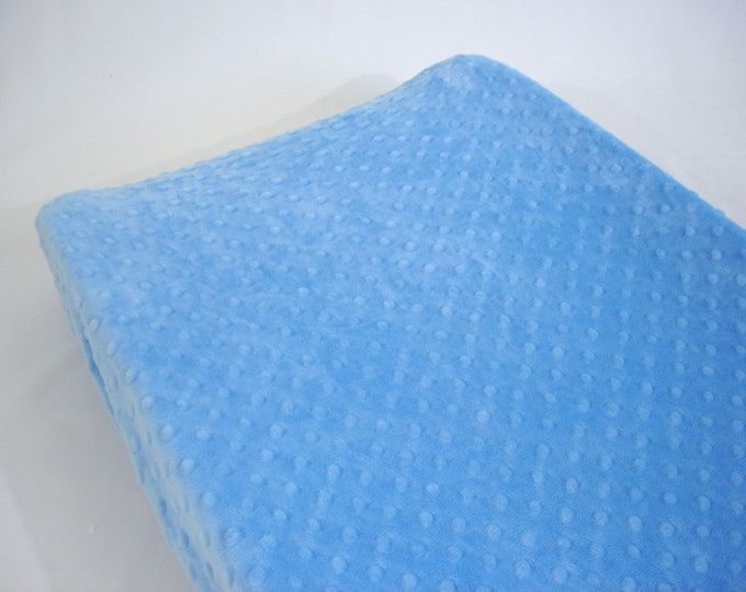 Periwinkle Blue Changing Pad Cover