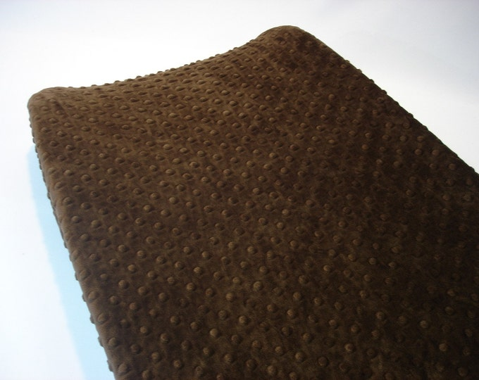 Chocolate Brown Changing Pad Cover