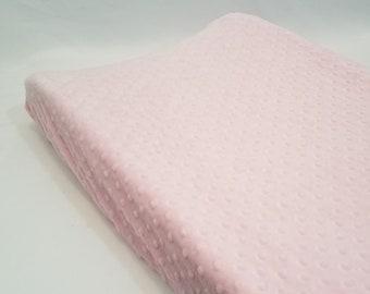 Blush Pink Changing Pad Cover