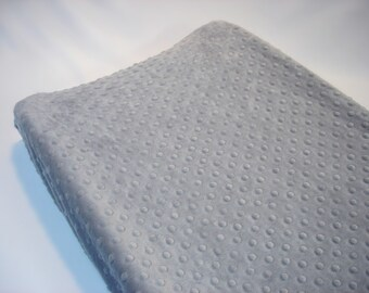 Silver Gray Changing Pad Cover