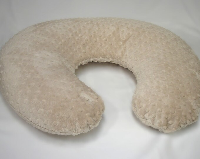 Brown Nursing Pillow Cover Latte