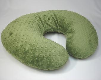 Green Nursing Pillow Cover Forest
