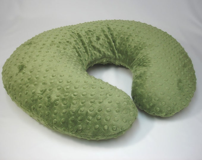 Forest Green Nursing Pillow Cover