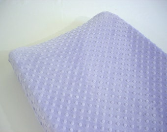 Lavender Purple Changing Pad Cover