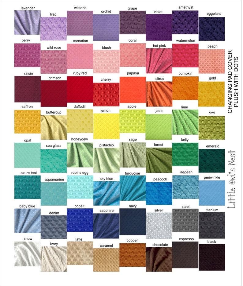 Nursing Pillow Cover Minky Fabric image 0