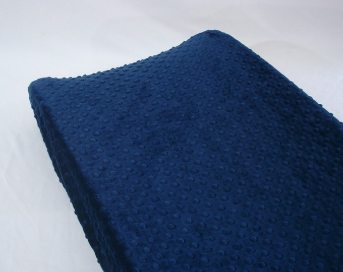 Navy Blue Changing Pad Cover