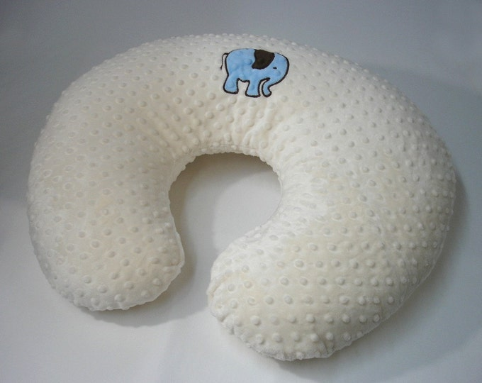 Elephant Boppy Pillow Cover Nursing Pillow