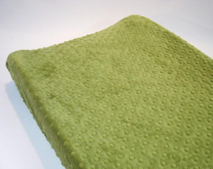 Green Changing Pad Cover Kiwi