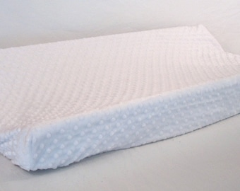 Changing Pad Cover White Snow