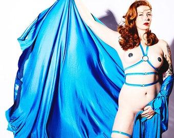 Elastic Burlesque Belt Burluxe Choose a Colour Made to Order