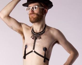 Chesties Boylesque Pasties Burluxe Swarovski Crystal Nipple Covers for Burlesque