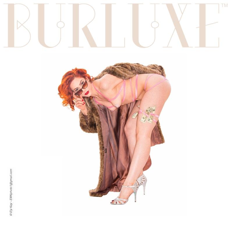 Valdis Modern Burluxe Garter Silver Tone Circle Detail Hot Pink