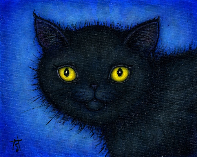 Your favorite Cat: Commission an original 8x10 oil painting