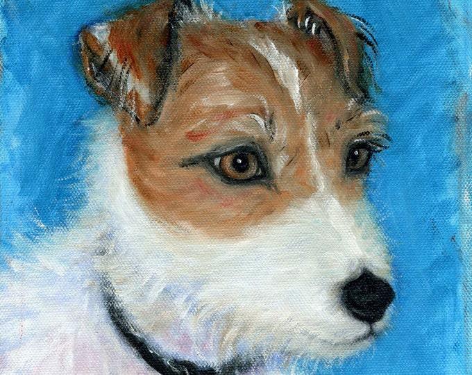 Russell Terrier dog print.  Truman