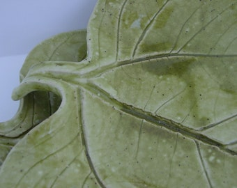 A Pair of Leaf Plates, or 1 Plate Alone