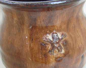 Olla Jar Pot Artifact made in Mayan Style