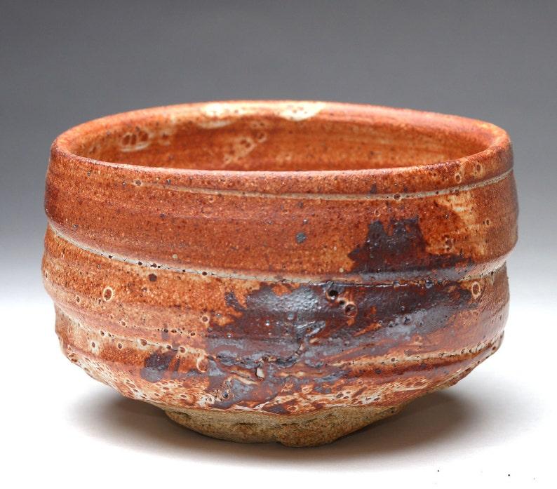 Aka Shino Matcha chawan by cory Lum teabowl image 0