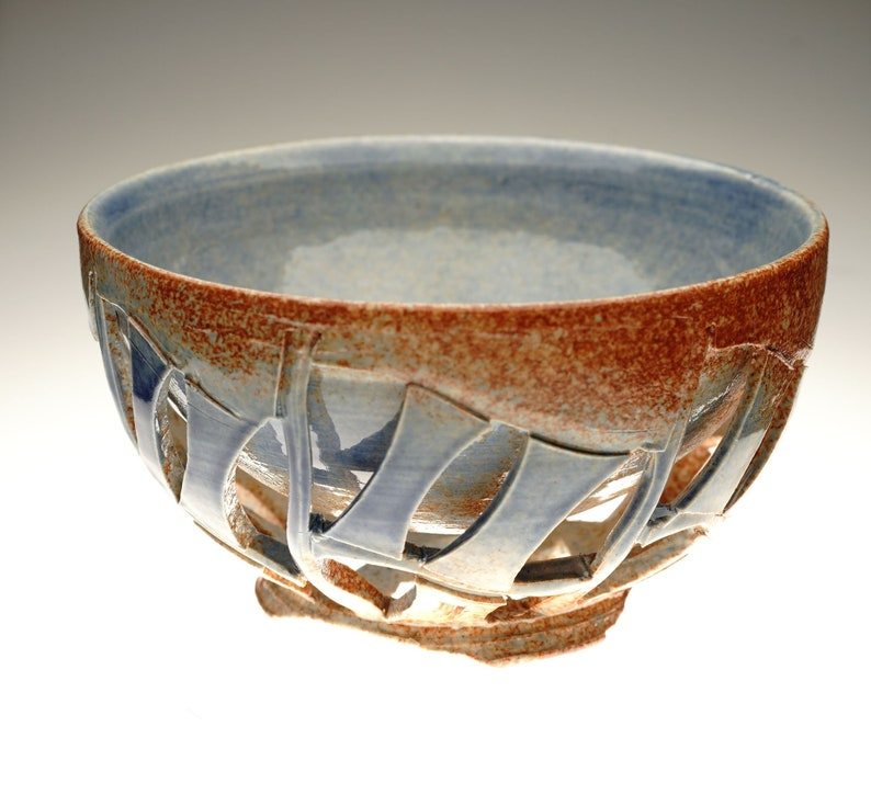 Handmade Ceramic Doublewalled Matcha chawan green teabowl image 0
