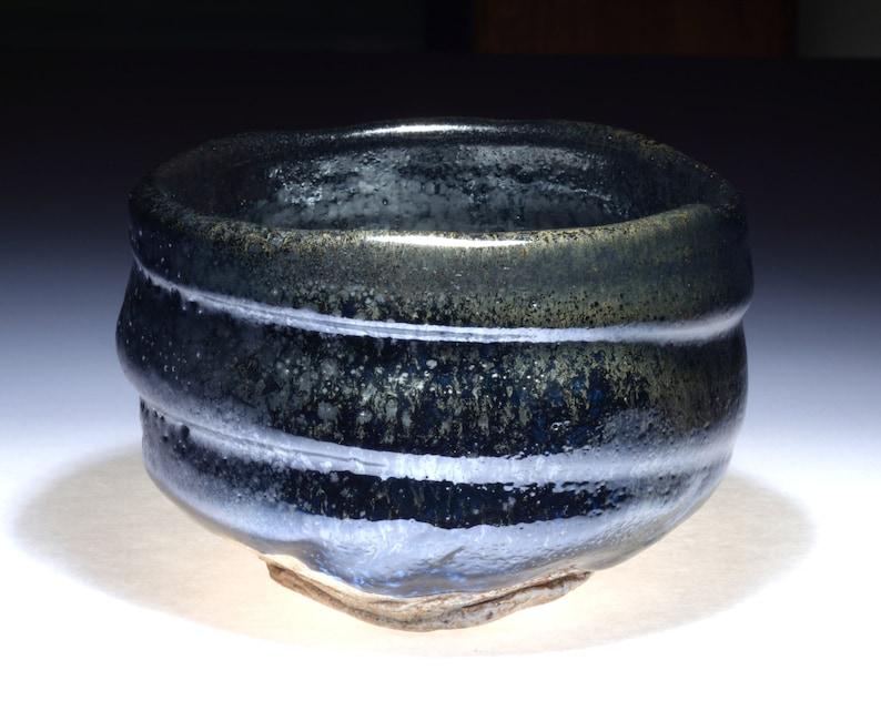 Yuteki oilspot tenmoku matcha chawan teabowl CL107 image 0