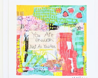 Greeting Card - You Are Enough
