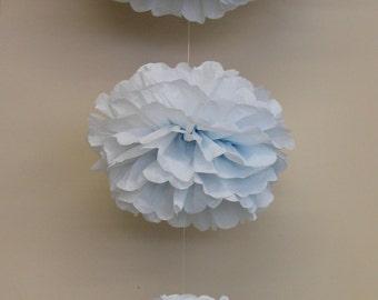 Cascading crystal embellished hanging pom kit