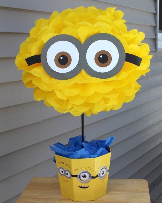Minion Minions Centerpiece Kit Despicable Me Birthday Party Etsy
