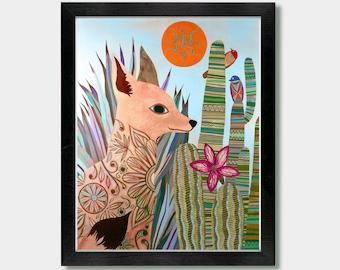 Desert Fox - Artwork by Jason Smith
